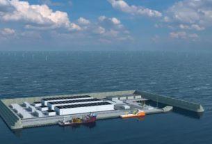 Denmark to build world first wind energy hub