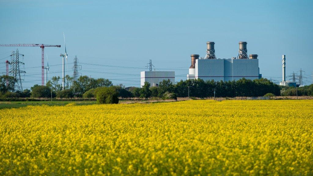 The Keadby 1 power station. (Photo: Stuart Nicol / SSE Thermal)