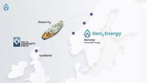 Historic green hydrogen deal for Port of Cromarty Firth
