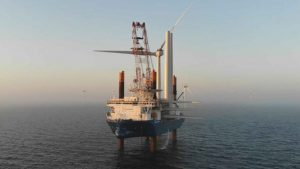 All Kriegers Flak turbines in place offshore Denmark