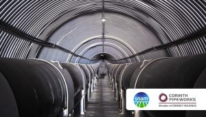 First hydrogen-certified pipeline project in Italy