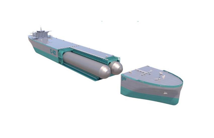 GEV starts development of pilot hydrogen ship