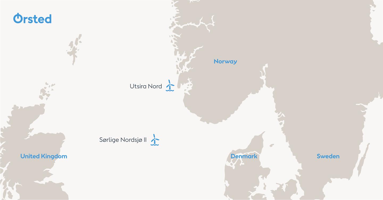 Ørsted, Fred. Olsen Renewables and Hafslund Eco form Norwegian offshore wind consortium