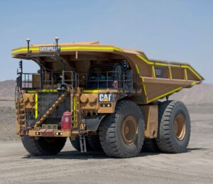 Battery-powered mining trucks aid BHP and Caterpillar zero-emission goals